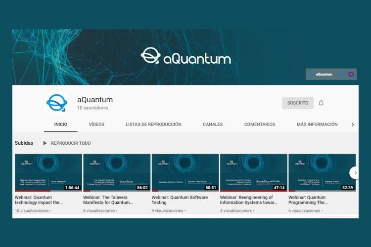 New aQuantum's Youtube Channel