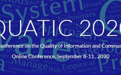 Relevant presence of aQuantum in the QUATIC 2020 Quality Aspects in Quantum Computing Track
