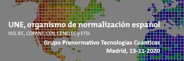 aQuantum members participate in the Spanish Prenormative Group on Quantum Technologies