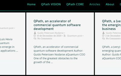 New Articles section on the QPath website