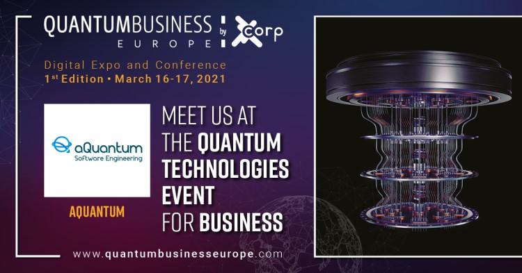aQuantum, Official Sponsor of Quantum Business Europe 2021