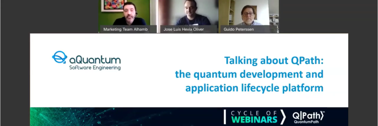 "Great reception of the webinar ""Talking about QPath"""