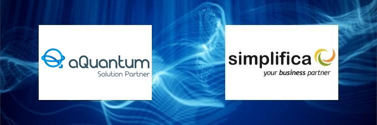 Simplifica Software becomes a Solution Partner of aQuantum