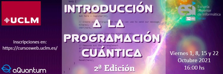 """Registration is open for the 2nd edition of the course """"Introduction to Quantum Programming"""""""