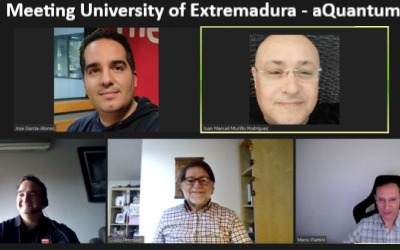 Meeting of the Joint Technical Committee of the University of Extremadura – aQuantum